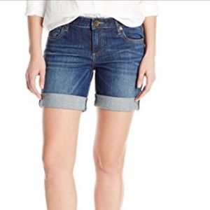 Kit from the Kloth Catherine Boyfriend Fit Shorts